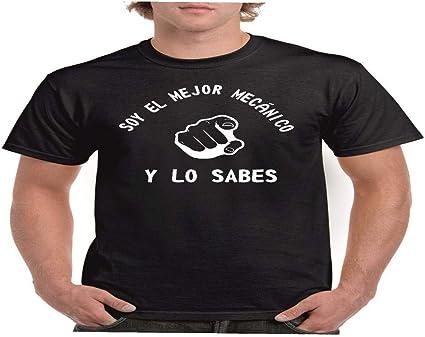 Camisetas divertidas Parent Mejor mecanico y lo Sabes - para Hombre Camiseta: Amazon.es: Ropa y accesorios