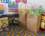 Brown Kraft Bag, Birthday Party Gift Favor Bag Set - 24 Count - Small