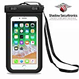 Shadow Securitronics Universal IPX8 100% Waterproof Dust Proof Touch Sensitive Transparent Case Pouch Dry Bag For All Smart phones & Accessories Made With Eco Friendly Plastic And Adjustable Ianyard