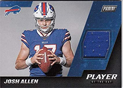 Amazon.com  2018 Panini Player Of The Day  JA Josh Allen  JA NM Near ... c68413d87