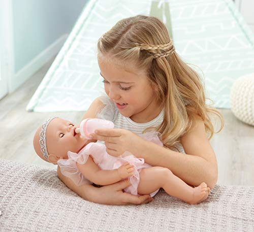 Baby Born Interactive Baby Doll- Blue Eyes