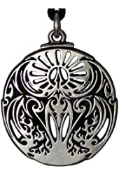 Mythical Rite of the Phoenix Fire Bird Pendant Alchemy Hermetic Jewelry