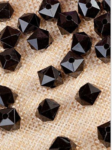 DOUERDOUYUU Moda e novità Perline in Acrilico con Perle quadrate Trasparenti Perline Fatte a Mano