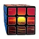 AVABAODAN Sunset Beach Rubik's Cube Original 3x3x3 Magic Square Puzzles Game Portable Toys-Anti Stress For Anti-anxiety Adults Kids