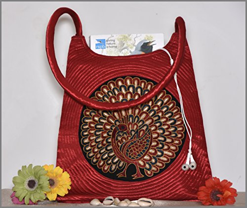 Crafts Galore by Fabucrafts , Damen Schultertasche rot rot