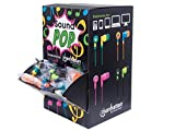 Manhattan 178822 SOUDPOP EARBUD COUNTERTOP DISPLAY, FULLY ASSEMBLE, INCLUDES 40 INDIVID