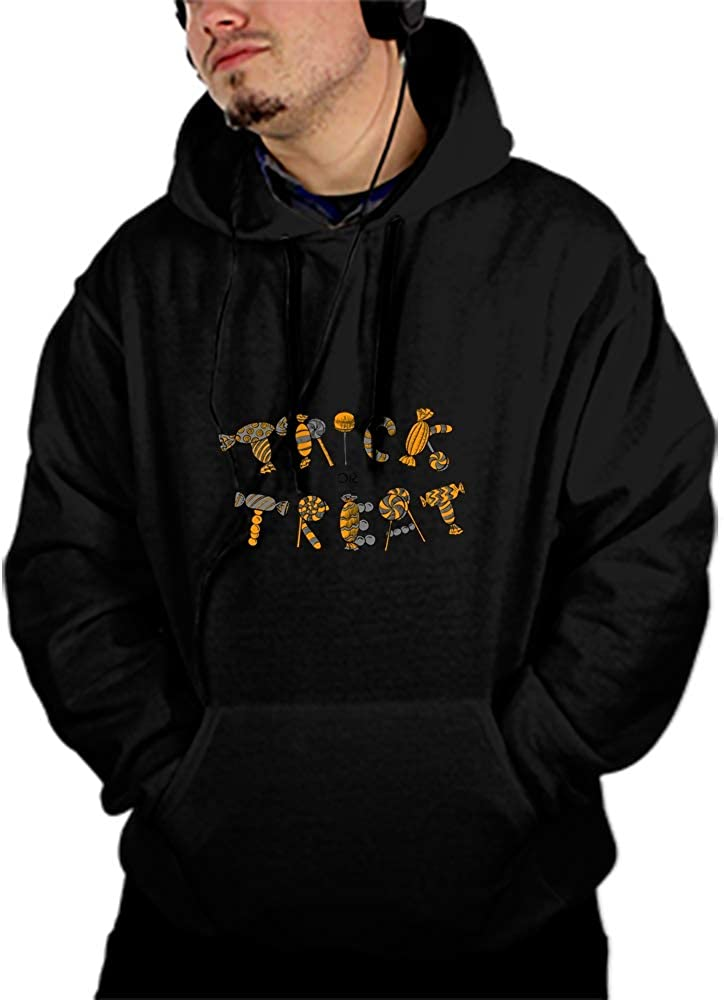 Mens Our Team Long Sleeve Screen Print Hooded Fleece Pullover Spooky Bat Haunted