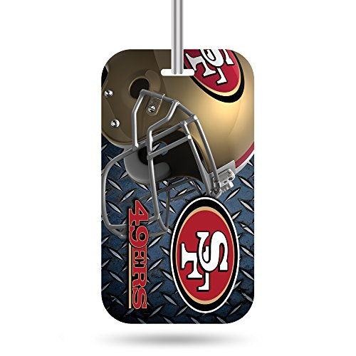 Rico Industries NFL San Francisco 49ers Plastic Team Luggage ()