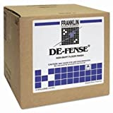 Franklin Cleaning Technology F135025 DE-FENSE Non-Buff Floor Finish, Liquid, 5 gal. Box