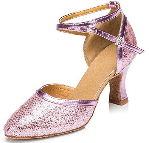 M106Purple mujer Zapatillas para KeKe Shoes danza de wTxqgpwPBn
