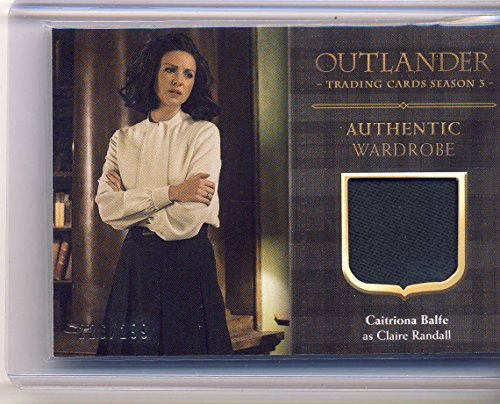 2018 Outlander Season 3 Trading Cards Wardrobe Card CE3 Caitriona Balfe as Claire Randall