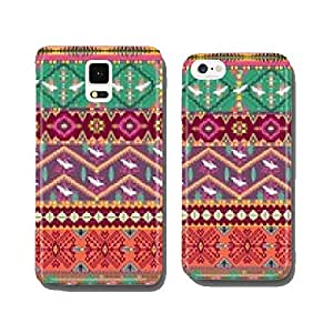 Seamless colorful aztec pattern with birds cell phone cover case iPhone6 Plus