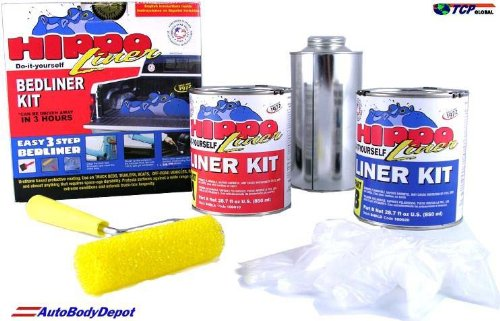 Dominion Sure Seal - DOMINION SURE SEAL Hippo-Liner Truck Bed Liner Kit with Shutz Spray Coating Gun