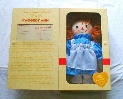 Raggedy Ann Edition Limited (Raggedy Ann Commemorative 85th Birthday Boxed Limited Edition Rag Doll)
