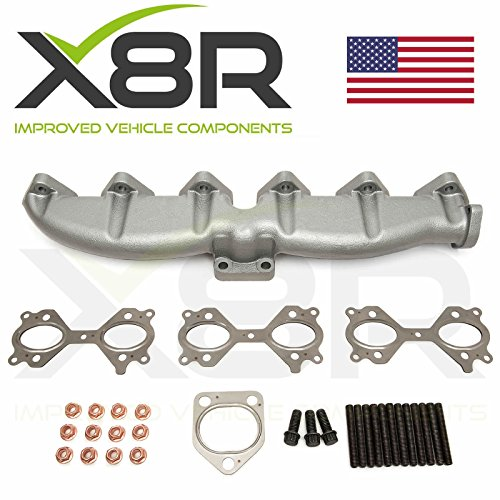 For BMW New Replacement Cast Iron Exhaust Manifold 11627788422 11622248166 X8R0095 (Exhaust E83)