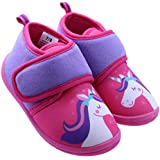 Unicorn Toddler Girl's Daycare Slippers