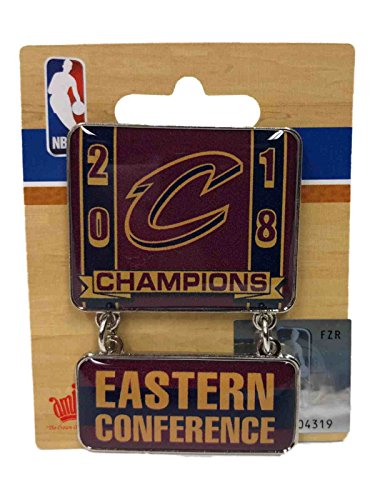 (aminco Cleveland Cavaliers 2018 NBA Eastern Conference Champions Dangler Pin)