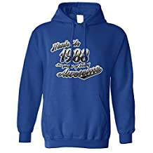 Tim And Ted Birthday Unisex Hoodie Made In 1988 30 Years Of Being Awesome 30th Year