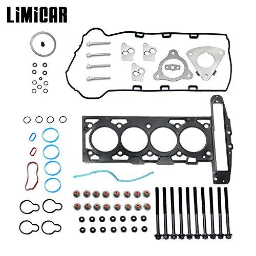 - LIMICAR MLS Cylinder Head Gasket Set with Head Bolts HS26223PT-1 For Chevrolet Cavalier Classic Cobalt HHR Malibu Oldsmobile Alero Pontiac Grand Am Pursuit Sunfire Saturn Ion L300 Vue 2.2L L4