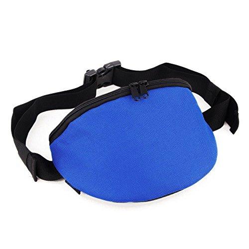 Topcombine Waist Bag Fanny Pack Hip Bag Bum Classic Bag For Men Women Sports Travel Running Hiking Money Key Passport iPhone 6/7 plus/8 (Blue) (Best Drifting Games For Iphone)