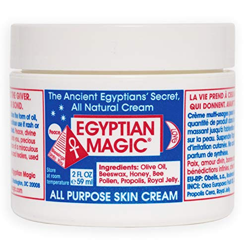 - Egyptian Magic All Purpose Skin Cream | Skin, Hair, Hand/Foot, Eye Cream | 100% Natural Ingredients | 2 Ounce