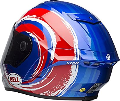Bell Star Mips Equipped Street Motorcycle Helmet Brad Binder Replica Gloss Blue Red Silver Xx Large Amazon Sg Automotive