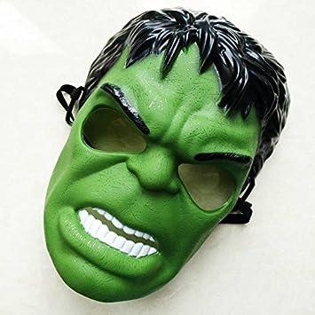 Hulk máscara de la máscara de Halloween de dibujos animados Vengadores representaciones teatrales , #1