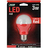 Feit Electric A19/R/LED A19 Red LED