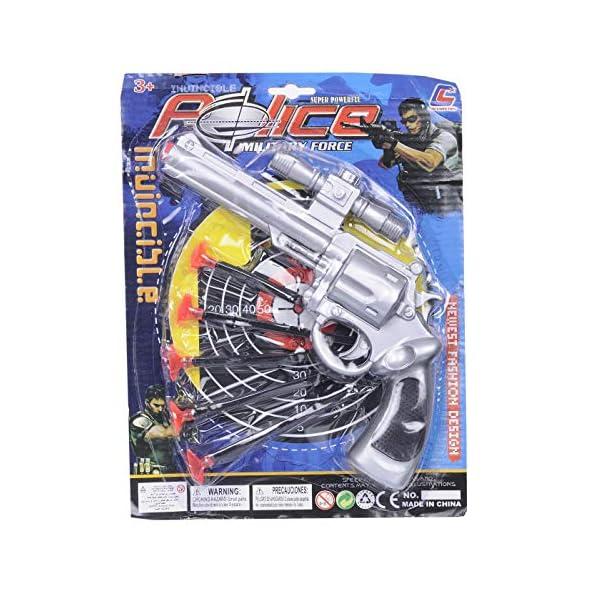 Aarushi Military Force Police Gun Toy – Dart Guns for Kids-Blaster Gun with Darts