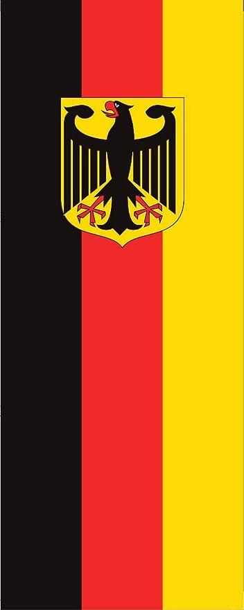 Bandera de Alemania con águila 110 g, ca. 400 cm x 150 cm ...