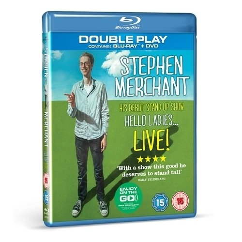 Stephen Merchant Live - Hello Ladies (Region B/2 Blu-Ray import)