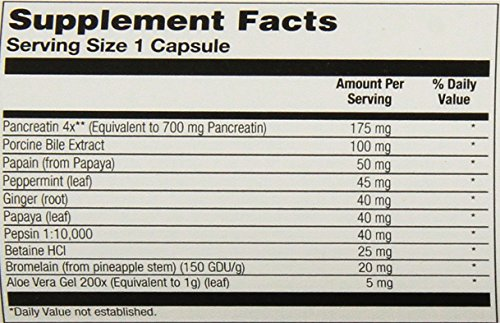 Solaray Super Digestaway Capsules, 180 Count by Solaray (Image #1)