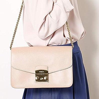 3173587f5f3b Amazon | フルラ(FURLA) メトロポリス S ショルダーバッグ【ピンク系その他/**】 | Amazon Fashion