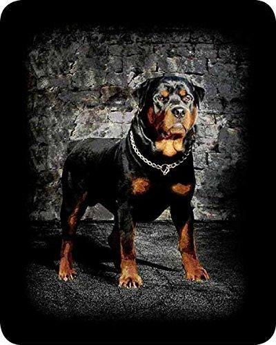 Charron Rottweiler FauxファーLuxury Sherpa Throw Blanket – Queen /フルサイズ B014ENTRAW