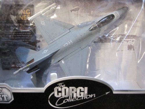 Models Aircraft Corgi (F-16 Falcon-4th Tactical Fighter Squadron-Corgi Fighting Machines Series with display stand)
