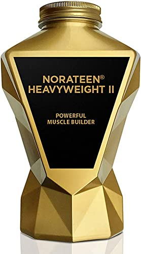 LA MUSCLE Norateen Heavyweight II – Premium Powerful Muscle Builder Testosterone Booster, Keto Friendly, Veggie Vegan Sports Nutrition Supplement Natural Stamina, Endurance and Strength Booster
