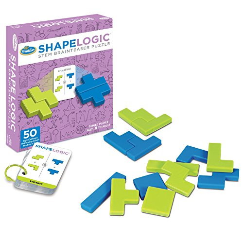 ThinkFun Shape Logic Board Game for Kids Age 8 and Up - Fun Gameplay Develops STEM Skills