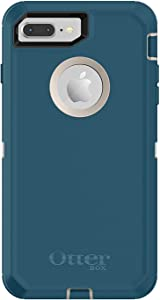 Rugged Protection OtterBox Defender Case for iPhone 8 Plus and iPhone 7 Plus (ONLY) - Bulk Packaging - (Pale Beige/Corsair)