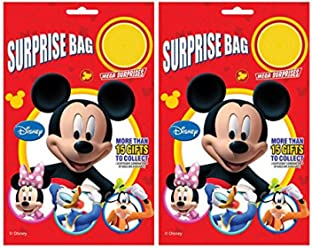 b4a8317ca140 Mickey Mouse Surprise Bag Surprise Gift Inside Pack of 2 Bags Easter Kinder  Fun Joy Kids