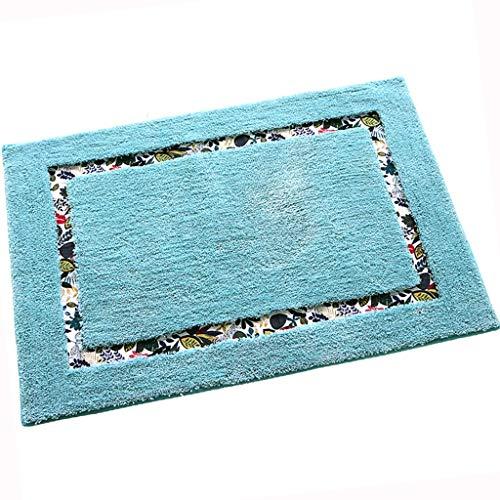 Versace Washable Rugs: Amazon.com: Area Rugs Floor Mat Carpet Blue Carpet Nordic