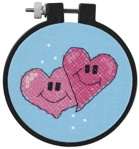 (Dimensions Needlecrafts Stamped Cross Stitch, A Pair Of)