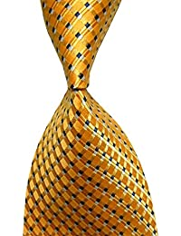 Hot Men's Ties 100% Silk Tie Woven Slim Necktie Jacquard Neck Ties