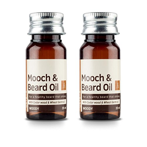 Ustraa by happily unmarried woody mooch and beard oil 35ml amazon ustraa by happily unmarried woody mooch and beard oil 35ml amazon health personal care fandeluxe Gallery