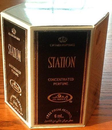 Station - 6ml (.2oz) Roll-on Perfume Oil by Al-Rehab (Crown Perfumes) (Box of 6)]()