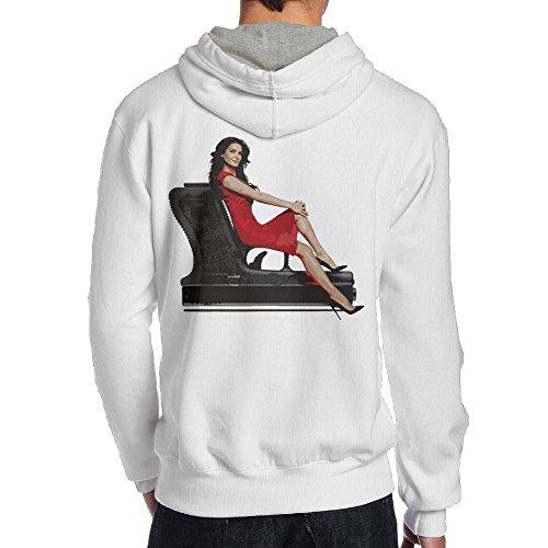 SAMMOI Rizzoli & Isles Men's Pullover Hood M White