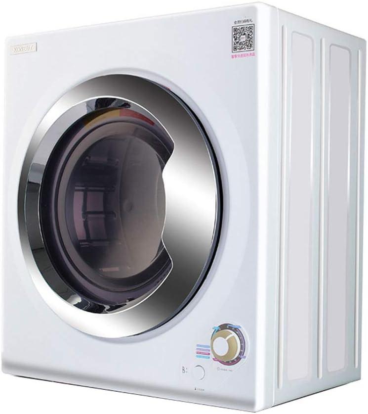 Secadora Pequeña Silenciosa, Tipo De Tambor Doméstico Secadora De Ropa De 5 Kg De Capacidad, Montaje En Pared, Control De Temperatura Dual
