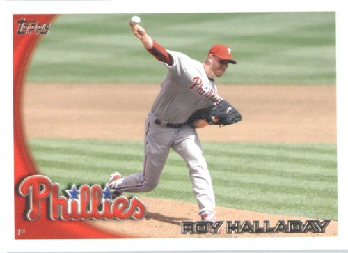 2010 Topps Update Baseball Card IN SCREWDOWN CASE #US 100 Roy Halladay Mint