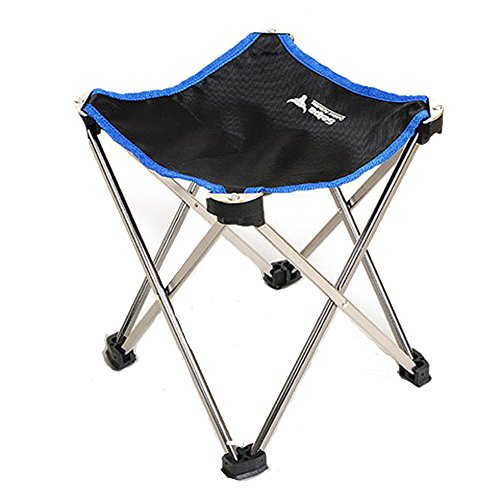 CieKen Portable Folding Stool, Outdoor Folding Chair, Ultralight Compact  Camp Footrest Stool, Outdoor