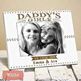 Cheap Personalized Daddy's Girls Picture Frame – Dad Gift From Daughters – Fathers Day Gift – Fathers Day Gifts for Dad