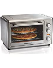 Hamilton Beach 31103DC Countertop Oven with Convection and Rotisserie, Stainless Steel